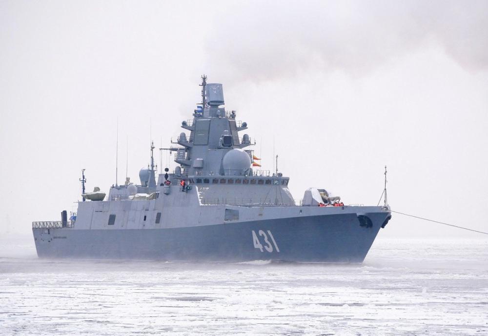 22350型护卫舰:被誉为俄罗斯版的054A,但作战效能远超05