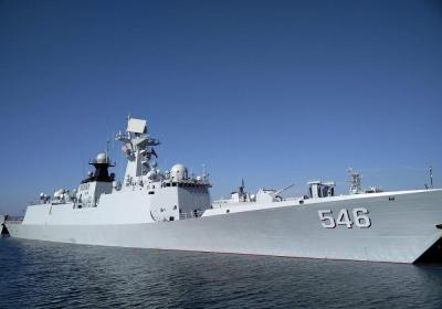 054A:中国第一种区域防空型护卫舰,作战能力优于051驱逐舰