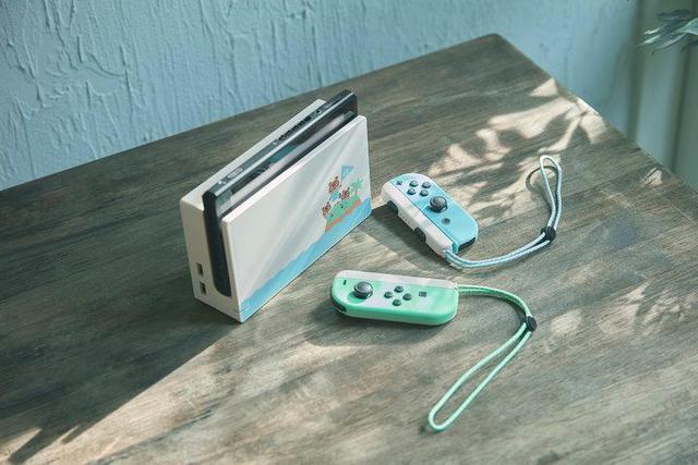 任天堂公布《动物之森》限定版 Switch:清新配色超可爱