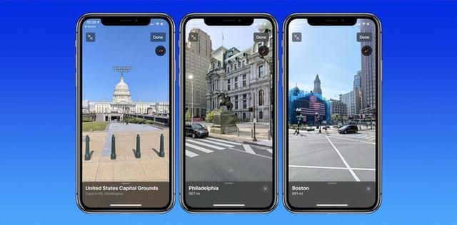 新的苹果地图来了,又有三个城市能「3D 看街景」