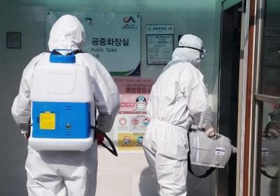 韩国新增84例新冠肺炎确诊病例 累计确诊977例