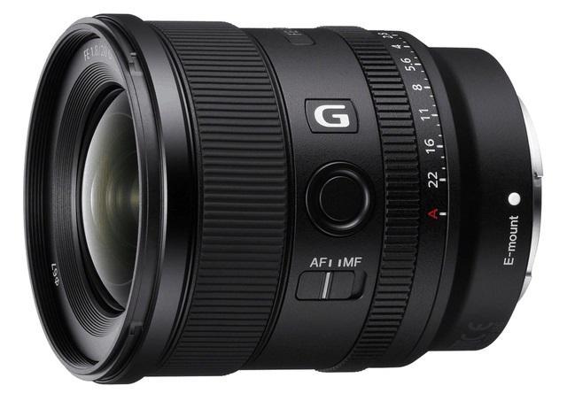 索尼发布全画幅超广角定焦FE 20mm F1.8