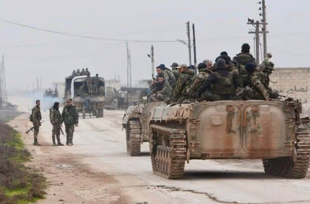 土耳其四千联军人海冲锋,激战12小时切断战略公路,叙俄前功尽弃