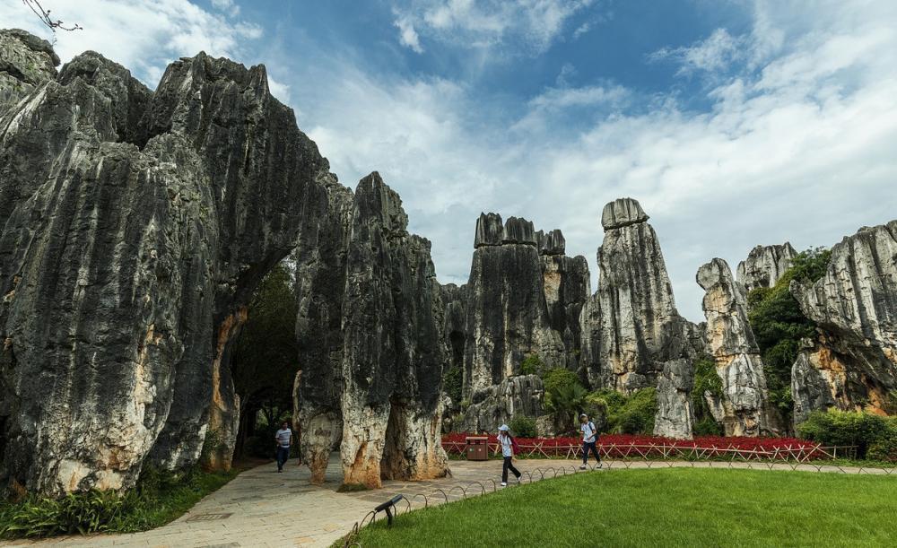石林风景名胜区位于云南省昆明市,疫情过后你还会去吗