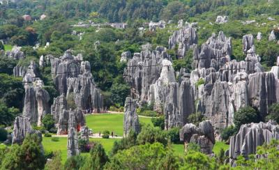 【逢仒三分笑】石林风景名胜区位于云南省昆明市,疫情过后你还会去吗