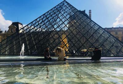 【素染墨眉】巴黎卢浮宫800年来第一次连续闭馆3天,现重新开放,重现艺术之美