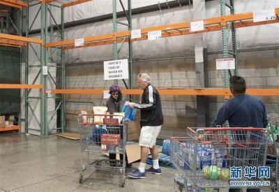 美国旧金山湾区:疫情蔓延 饮用水限购