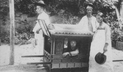 【傲娇范、女王】从朝鲜将军到李鸿章,你没见过的高官奇葩出行方式