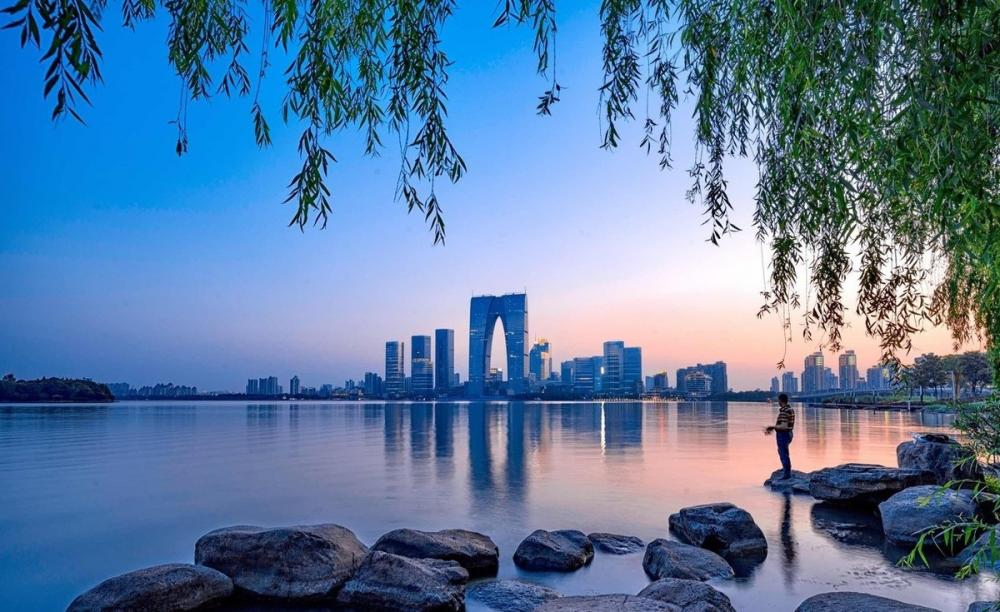 无法复制的苏州——之金鸡湖畔的现代之美