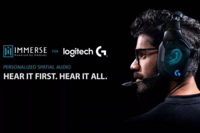 【光着屁股的猫】Logitech G耳机引入Immerse应用支持:提供更好游戏