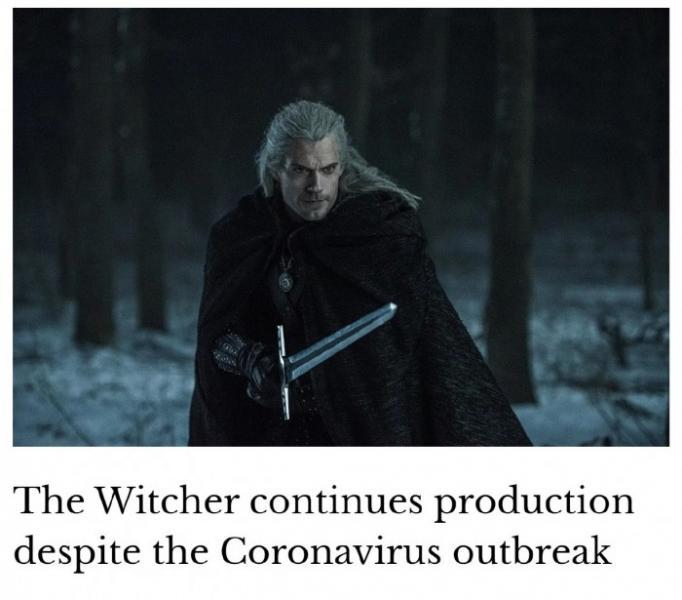《巫师》第二季暂未受疫情影响 仍在拍摄