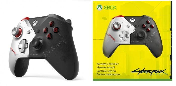 【陪风去荡】银手主题!亚马逊上架《赛博朋克2077》限定Xbox手柄