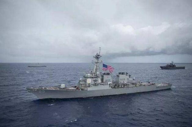 【夨落旳尐孩】就是这么直接!美国军舰抵达台湾之日,就是解放军武力统一之时