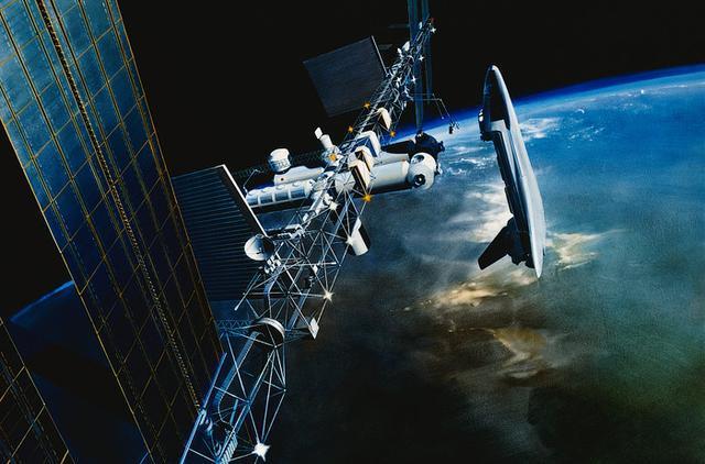【兰花旳执着】NASA和SpaceX公司龙飞船首次载人飞行将使用触摸屏