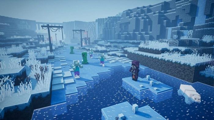 【森里伊人】Reddit网友分享《我的世界》地下城DLC截图