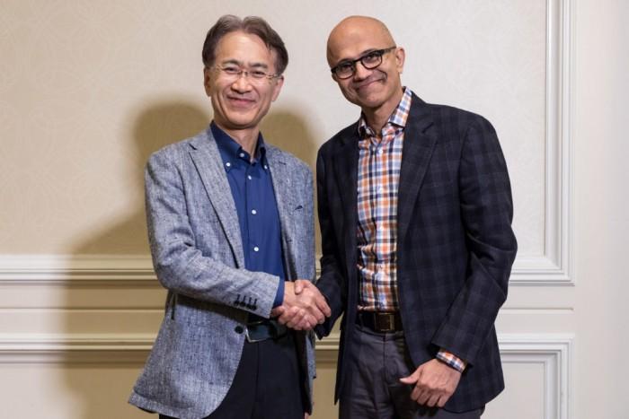 【夜未央樱花落】随着云游戏技术发展 索尼与微软的联系正在加深
