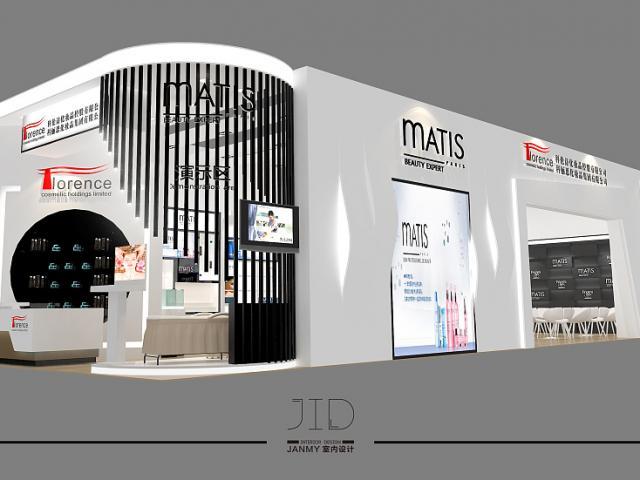 展会设计 企业展台效果图设计 展位设计 展柜展示