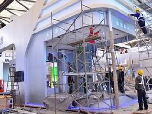 展台搭建 展馆搭建 舞台搭建