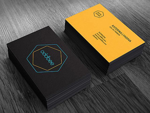 高档名片设计 专业企业/个人名片(四款供选择,满意为止)