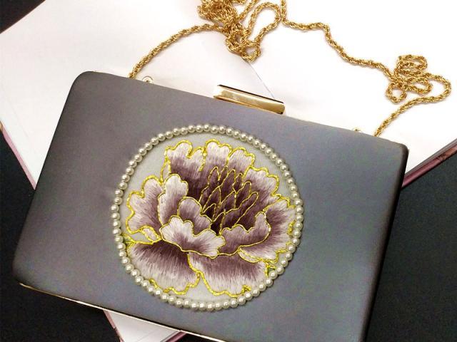 刺绣苏绣手拿包宴会包 单位外事出国送女士礼品涉外商务伴手礼物